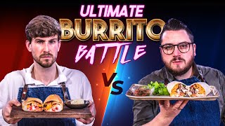ULTIMATE BURRITO COOKING BATTLE - TAKE 2!! | SORTEDfood