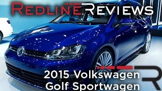 2015 Volkswagen Golf Sportwagen - 2014 New York International Auto Show