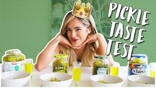 Blindfolded Pickle Taste Test Challenge!