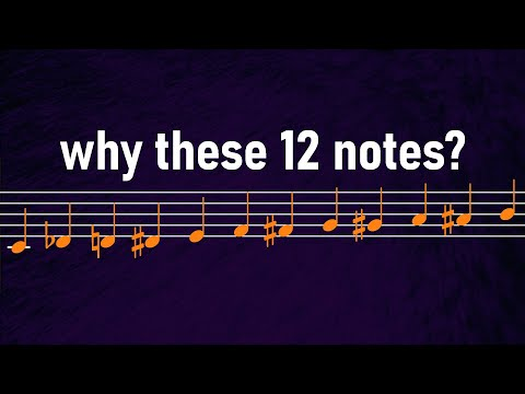 Why Does Music Only Use 12 Different Notes? - David Bennett Piano