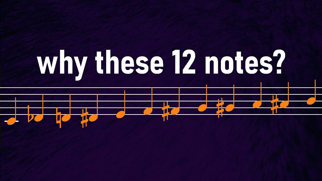 Why Does Music Only Use 12 Different Notes Youtube
