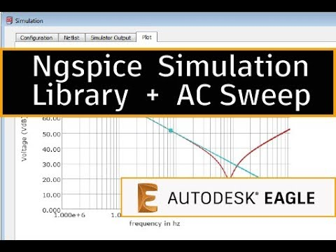Using the Ngspice Simulation Library and AC sweep - Tip 3 - YouTube