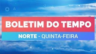 Previsão Norte – Temporais em Manaus e Belém