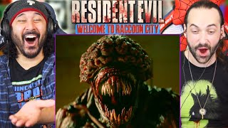 RESIDENT EVIL: WELCOME TO RACCOON CITY TRAILER REACTION!! (Resident Evil 2021)
