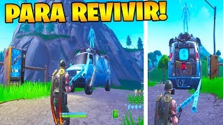 BUG to USE RESPAWN VANS!! FORTNITE 😱