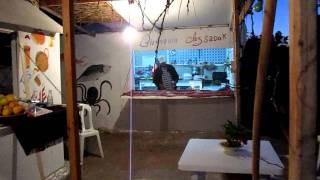"""Het Aardigste Allerlaatste Avondmaal """"Chez Sadok"""" 26 OKT 2011 Sangho Club Zarzis.MOV"""