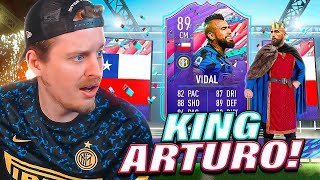 THE MOST INSANE SBC CARD?! 89 FUT BIRTHDAY VIDAL REVIEW! FIFA 21 Ultimate Team