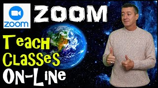 How to teach online with Zoom: Complete Introduction #teachonline #zoom