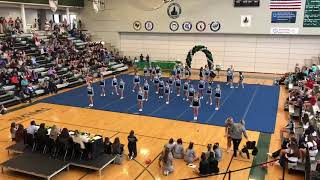SME Cheer 2018-19 Comp Routine at BVSW Showcase