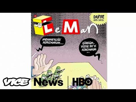 Turkey's Controversial Cartoons: VICE News Tonight (HBO)