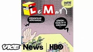 Turkey's Controversial Cartoons  VICE News Tonight (HBO)