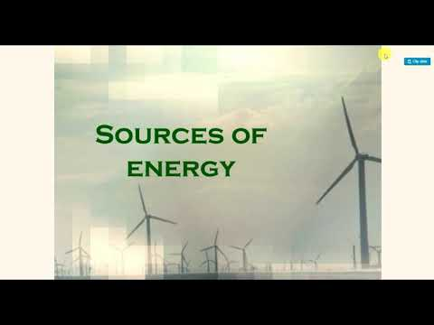 Project file on source of energy | PPT presentation on source of energy | physics project file |