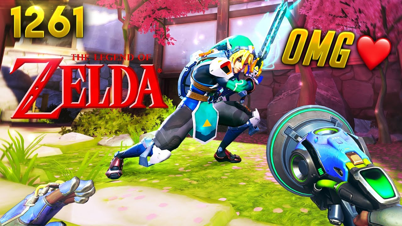 *WTF* Zelda's LINK JOINED OW!! | Overwatch Daily Moments Ep.1261 (Funny and Random Moments)