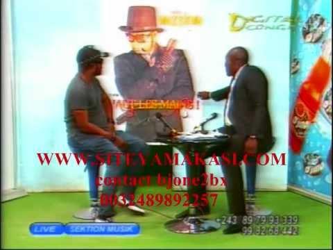 Nati Lokole  recoit Felix Wazekwa  Sektion Muzik 2011/10/30