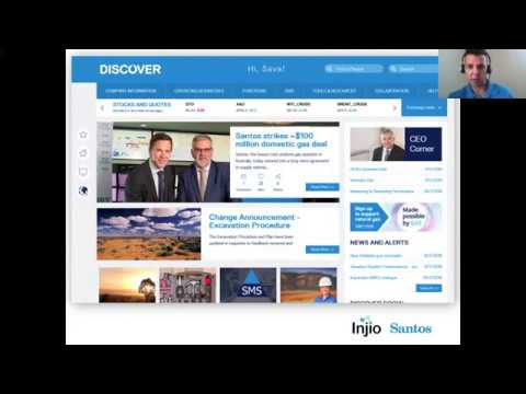 How Santos delivered a leading intranet in 10 weeks