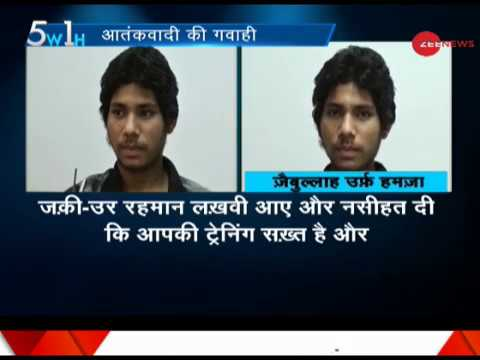 5W1H: Not just terror agents, Pakistan smuggling arms into India, reveals Lashkar terrorist