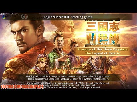 Romance of the Three Kingdoms (By NEXON) Android iOS Gameplay