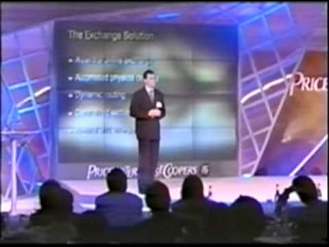 Alex Mashinsky keynote at the PWC world telecom conference Paris France 2001