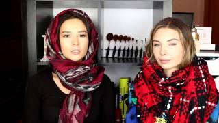 видео Как модно завязать шарф ?
