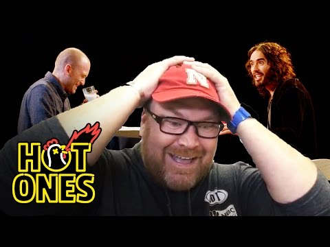 Hot Ones Superfan Brett Baker Reacts to Russell Brand's Musical Tribute