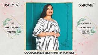 30 06 2021 2 Показ женской одежды больших размеров DARKWIN от DARKMEN Турция Стамбул Опт
