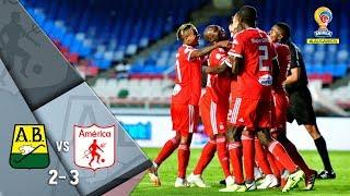 Bucaramanga vs América: resumen del partido 2-3 - Liga Águila 2018-II