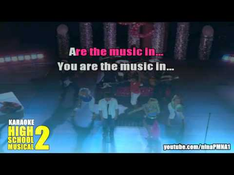 KARAOKE You Are The Music In Me (Sharpay Version) High School Musical 2