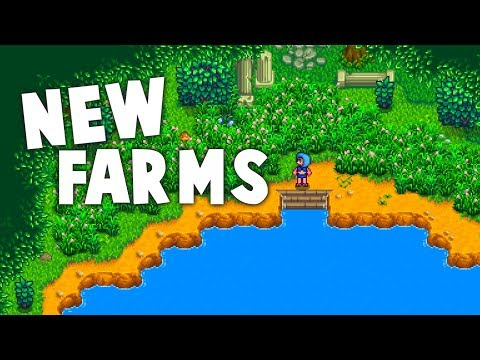 Stardew Valley - NEW FARMS! | Ali and Rivanne Farm Map Mods
