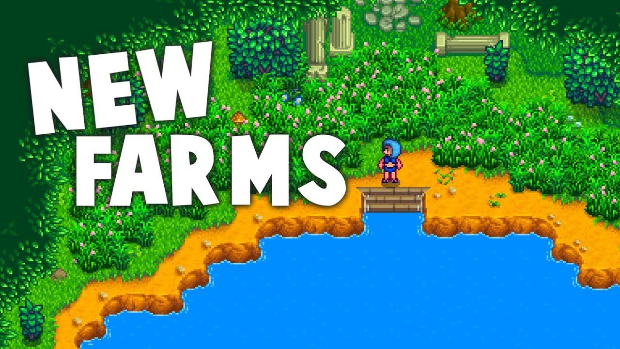 Stardew Valley - NEW FARMS! | Ali and Rivanne Farm Map Mods