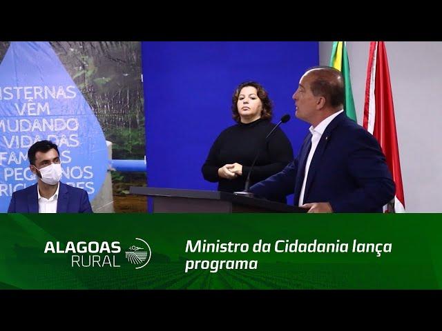 Ministro da Cidadania lança programa de aquisição de alimentos em Alagoas
