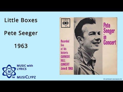 Little Boxes - Pete Seeger 1963 HQ Lyrics MusiClypz