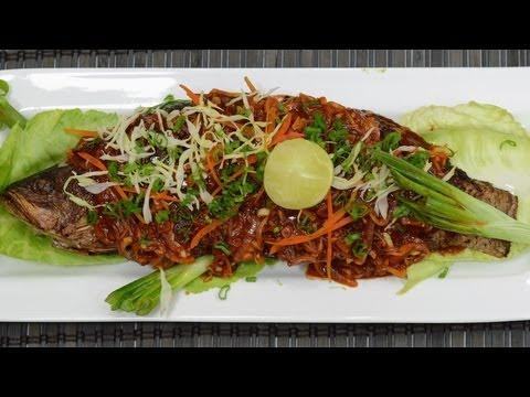 Fish In Garlic Sauce - By Vahchef @ Vahrehvah.com