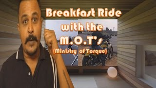 Breakfast Ride with the M.O.T's (Harley Davidson / Super Bike Riders) to Indian Paratha Company