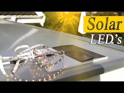 How to Solar Power LED Lights for Decoration - RCLifeOn