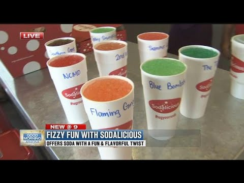 Sodalicious brings fizzy fun to the Valley