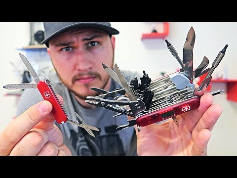 World's Biggest Swiss Army Pocket Knife