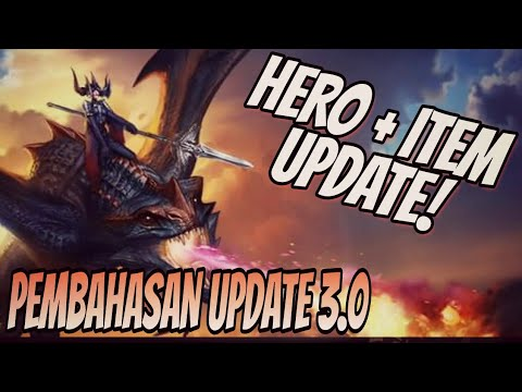 Vainglory News - PEMBAHASAN UPDATE 3.0 HERO + ITEM! Vainglory 5v5 Indonesia