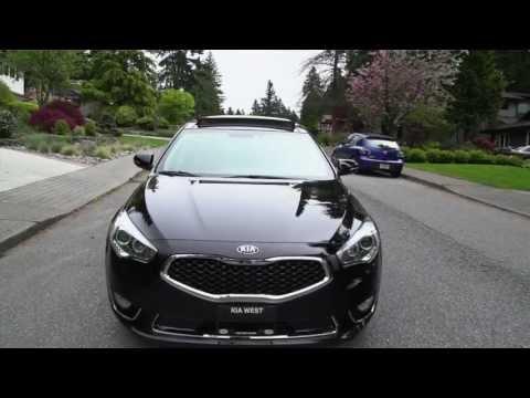 2014 Kia Cadenza - KIA's Newest Addition - Approx $40,000 - Review
