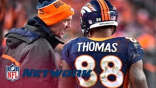 Demariyus Thomas Discusses Close Relationship With Peyton Manning | NFL Network