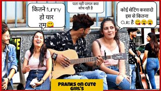 Picking up Girls || Impressing Girls With Guitar  And Singing || Prank On Cute Girls || Pranks 2019