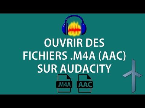 [TUTO] Comment ouvrir des fichiers .M4A (AAC) sur Audacity [FR]
