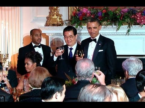 State Dinner with President Hu of China