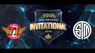 SKT vs TSM MSI group stage Day 1 game Highlights