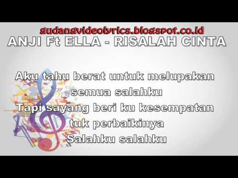Anji & Ella   Risalah Cinta Official Video