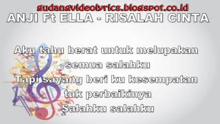 Anji & Ella   Risalah Cinta Official Video