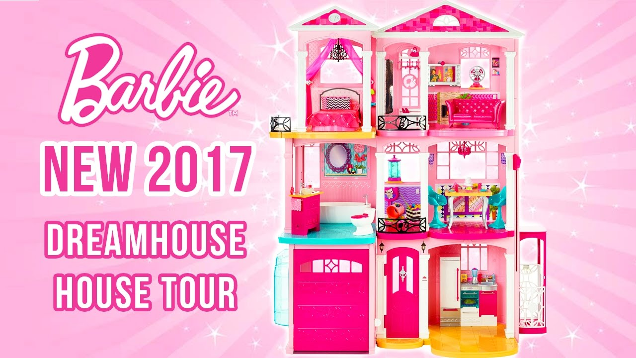 2017 BARBIE DREAMHOUSE ASSEMBLY & TOUR | ARMANDO MANSION ...