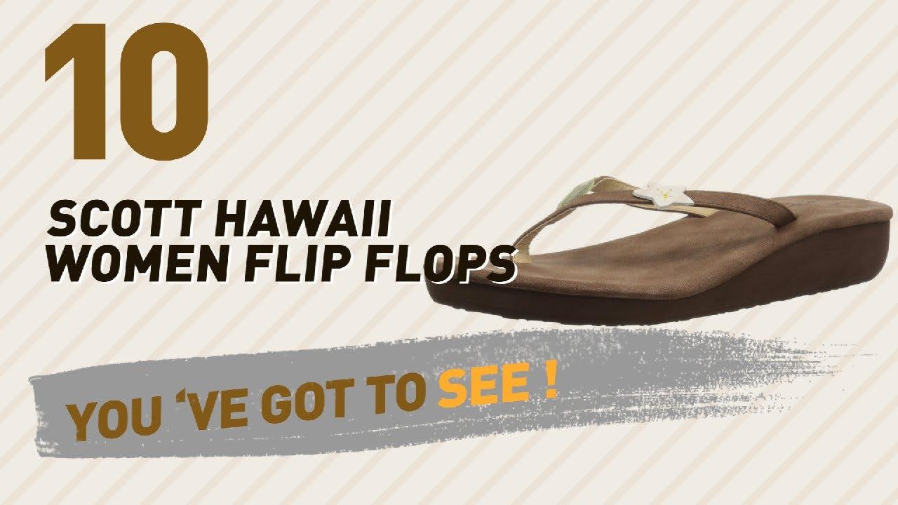 85ae0fe25 Scott Hawaii Women Flip Flops    New   Popular 2017 - YouTube