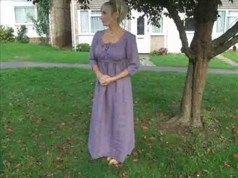 "Jane Austen Regency Era 100% silk Taffeta Coat or ""Pelisse"""