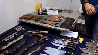 Ножи на выставке