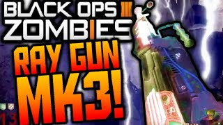 Call of Duty Black Ops 3 ZOMBIES RAY GUN MARK 3 IN-GAME IMAGE LEAKED (DLC) + RAY GUN GAMEPLAY! Mk3